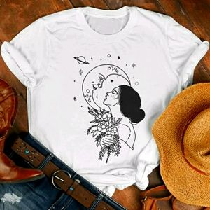 Night Goddess Hippie Boho Tee Shirt